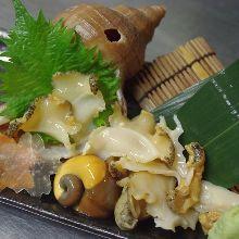 つぶ貝(刺身)