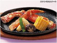 蟹ステーキ