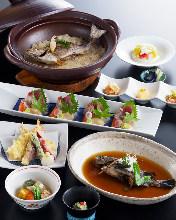 吟味・魚菜心伝コース