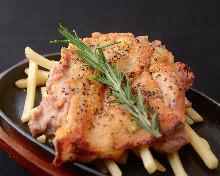 地鶏のモモ肉