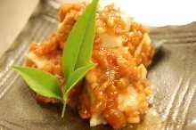 金山寺味噌漬け豆腐