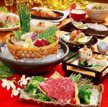 牛サーロインと旬和食 【2時間飲み放題付】
