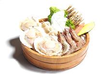 魚介類の磯焼き