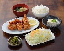 唐揚げ定食