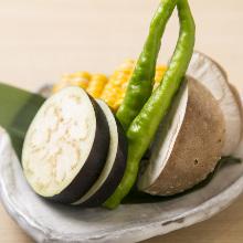 日替わり焼き野菜盛り合わせ