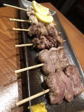 串焼き盛り合わせ6種