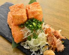 豆腐の素揚げ
