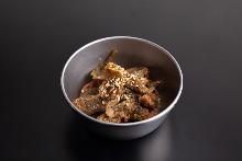 揚げ青唐辛子の味噌漬け