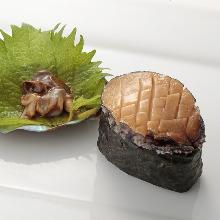 活鮑(寿司)