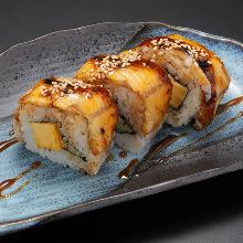ロール寿司の盛り合わせ