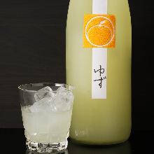 鶴梅 ゆずCitrus Fruit Liqueur