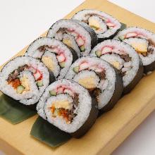 こぼレインボー寿司 Spilling-over Rainbow Sushi