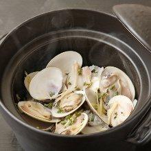蛤の炊き込みご飯