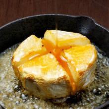 カマンベールチーズのオーブン焼き