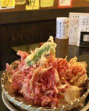 紅しょうが天ぷら