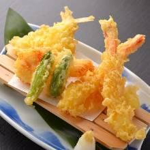 海鮮天ぷら盛り合わせ