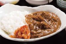 カレー定食