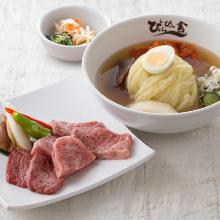 盛岡冷麺と和牛スペシャルランチ