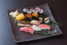 にぎり寿司盛り合わせ9種
