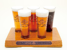 Their imported carefully Keg beer drinking set