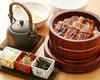큰 장어 특제 히츠마부시(장어구이를 잘게 썰어 얹은 덮밥)