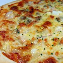 해물 피자