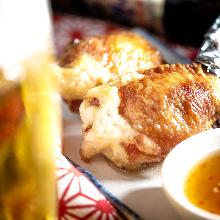 닭날개 만두