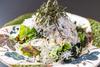 가마아게(가마솥에 삶음) 잡어 샐러드
