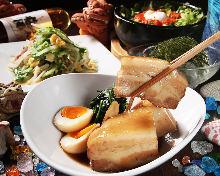 오키나와 돼지 삼겹살 조림