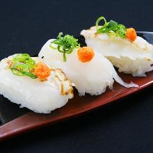 복어 쥔 초밥