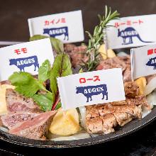 모둠 고기 요리 5가지