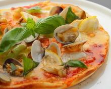 시푸드 피자