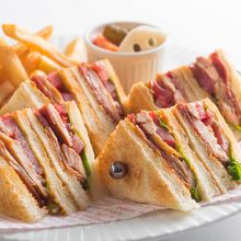 클럽하우스 샌드위치