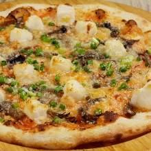 떡 명란젓 피자