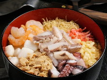 그 외 오코노미야키, 반죽 요리