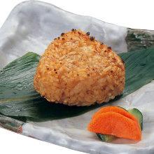 구운 주먹밥