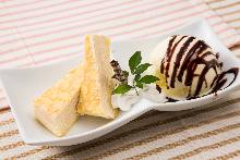 레어 치즈 케이크