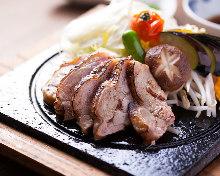 토종닭 구이