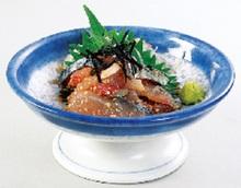 깨 고등어(향토 요리)