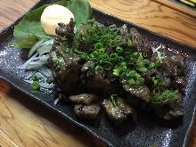 토종닭 숯불 구이