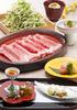 일본산 소고기 샤부샤부 코스 오우기(2명부터)
