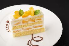 조각 케이크