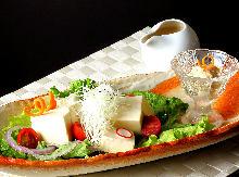 유바(두부껍질) 샐러드