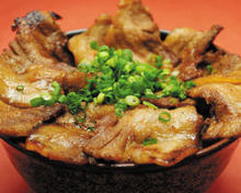 돼지고기 덮밥