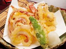 오징어 튀김