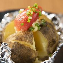 명란 버터 감자