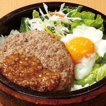 하와이식 햄버그 덮밥