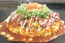 소고기 오코노미야키