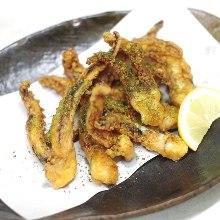 오징어 다리 튀김