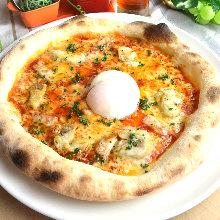 모짜렐라치즈 피자